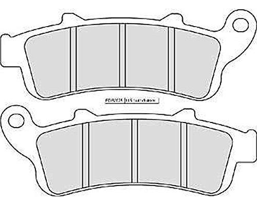 Bremsbelag / Bremsbeläge Ferodo FDB 2075 P Hinten für Honda GL 1800 F6C SC68 2014-2015