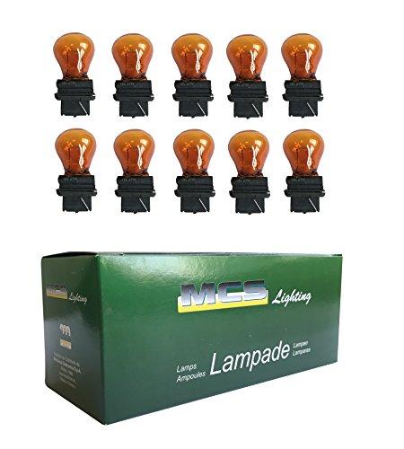 Melchioni 322199940 Lampe 12V 27W G25 5, Ambra, 10er Set (G25-lampen)