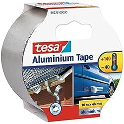 Cinta de Aluminio para Alta Temperatura Adhesiva