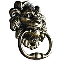 UniDecor Antique Lion Door Knocker Lion Head