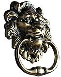 Unidecor antique Lion Heurtoir de porte Tête de lion