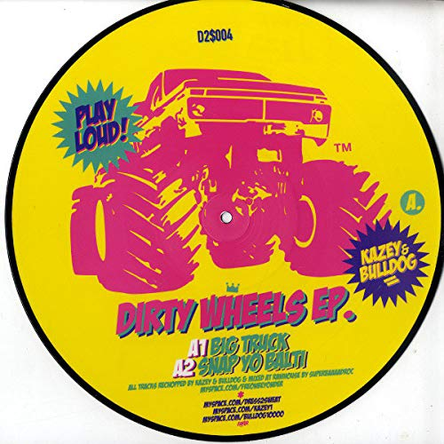 Kazey & Bulldog - Dirty Wheels EP - Dress 2 Sweat - D2$004 -