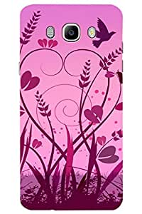 AMAN Nature Love 3D Back Cover for Samsung Galaxy J7 (2016)