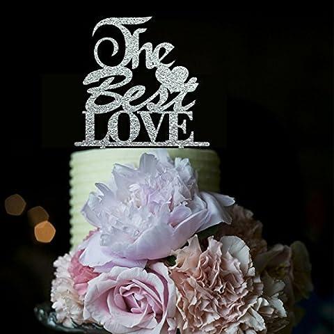 La migliore amore Wedding Cake Topper Decorazioni