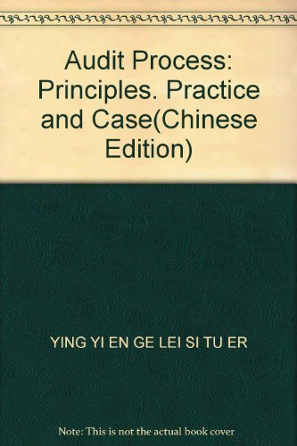 audit-process-principles-practice-and-casechinese-edition