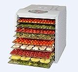 Kitchen Chef KYS333D Déshydrateur de fruits et légumes 9...