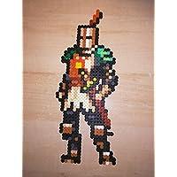 Pixel Art / Perler Beads Dark Souls Solar Soldier
