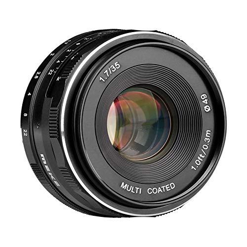 Meike Optics MK 35mm f1.7 Weitwinkel Objektiv, manueller Fokus für Nikon