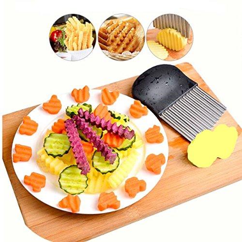 Pommes Frites Gemüse Utensilien,Kartoffelscheiben-A
