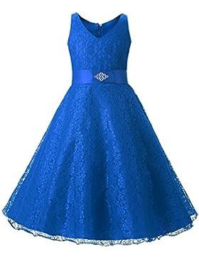 LSERVER-Mädchen Kinder Kleid Brautjungfer Festlich Hochzeit Kleider Abendkleid Kommunionkleid