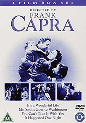 Frank Capra - Its A Wonderful Life / Mr Smith Goes To Washington / You Cant Take It With You / It Ha