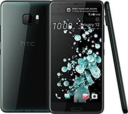 HTC U Ultra 64 Gb, Negro Brillante