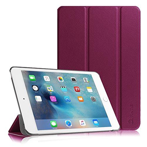 iPad Mini 4 Hülle - Fintie Ultradünn Superleicht Cover Schutzhülle Tasche Case mit Ständer & Auto Sleep / Wake Funktion für Apple iPad mini 4, Lila