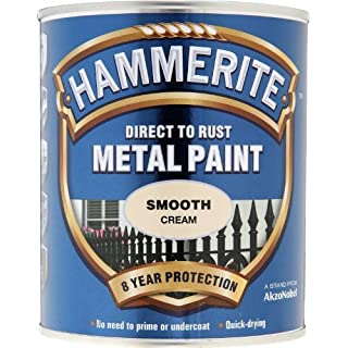 Hammerite SFCR750 750ml Direct to Rust Smooth Finish - Cream