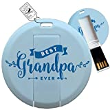 "Best grandpa Portachiavi - My Custom Style® Pen Drive USB Portachiavi ""Coin Review"