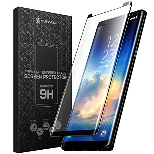 Samsung Galaxy Note 8 Schutzfolie, SUPCASE Displayschutz Prämie Vollständige Abdeckung Bildschirmschutzfolie Hartglas Folie für die Samsung Galaxy Note 8 (Klar)