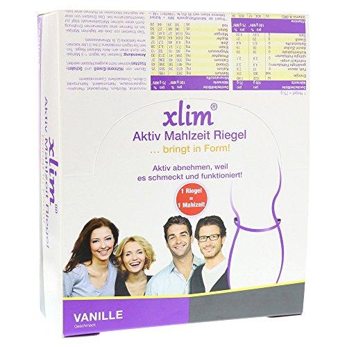 Xlim aktiv Mahlzeit Vanille, 12 St. Riegel