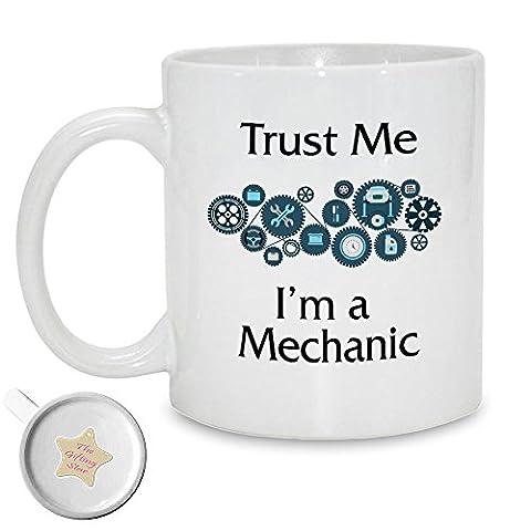 Trust Me, I'm a Mechanic | 11oz Printed Ceramic Mug