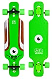 SOLID Eye Kid Minicruiser Green Longboard komplett