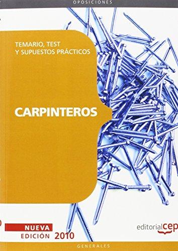 Carpinteros, oposiciones generales. Temario, tests y supuestos prácticos por From Editorial Cep, S.L.