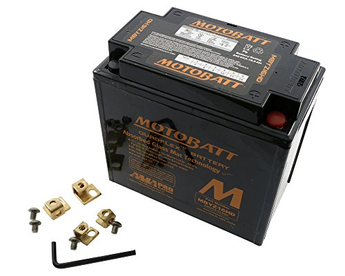 Batteria MOTOBATT mbyz 16hd, 4Pin, Nero