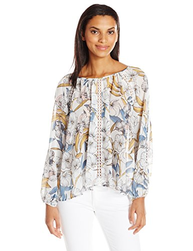 minkpink-womens-pacifico-floral-print-top-multi-small