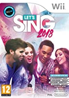 "IN LET'S SING 2018 I GIOCATORI POTRANNO SCEGLIERE TRA 30 BRANI DI SUCCESSO INTERNAZIONALI, IN GIOCATORE SINGOLO E MULTIPLAYER FINO A 4 GIOCATORI, SU WII E PS4, E A 2 GIOCATORI SU SWITCH.TRA LE TRACCE DISPONIBILI TROVIAMO ""HYMN FOR THE WEEKEND"" DEI CO..."