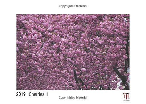 Cherries II 2019 - White Edition - Timocrates wall calendar, picture calendar, photo calendar - DIN A3 (42 x 30 cm) -