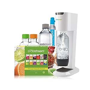 SodaStream Genesis Megapack Machine à gazéifier l'eau du robinet Blanc