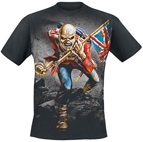 Iron Maiden The Trooper T-Shirt schwarz L (Iron Maiden-t-shirt)