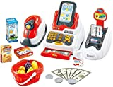#8: Mayatra's Realistic Educational Cash Register Toy Supermarket Set for Kids( Color May Vary )