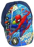 Marvel Spiderman Baseball Cap für Kinder, dunkelblau, Art. 4004, Gr. 54