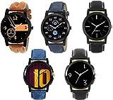 Krupa Enterprise Multicolour Boy's Watch -Set of 5