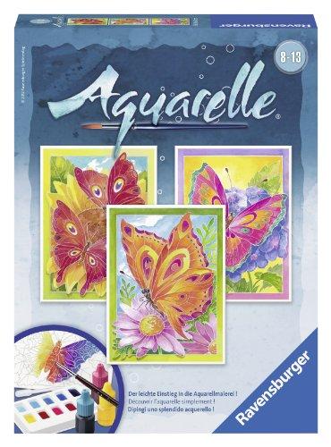 Ravensburger-29316-Schmetterlinge-Aquarelle-Midi-18-x-24-cm