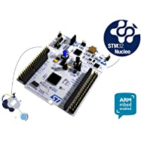 STMicroelectronics, nucleo, Modello STM32nucleo-64,scheda di sviluppo con MCU, Supporta Arduino e connettività ST Morpho