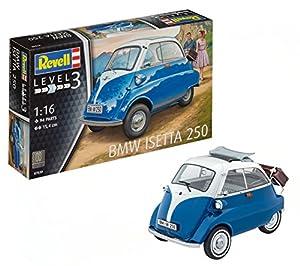 Revell Maqueta BMW Isetta 250, Kit Modelo, Escala 1:16 (07030), 15,4 cm de Largo