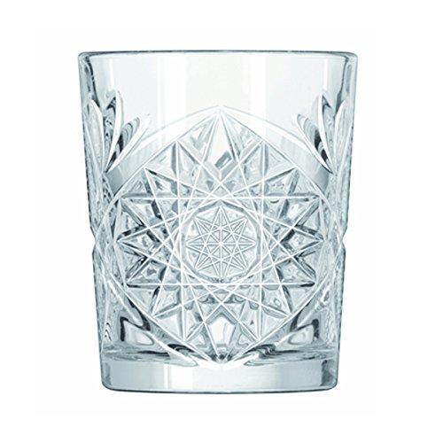 Libbey - Hobstar - Whiskyglas, Gin Tonic Glas, Saftglas, Wasserglas - 355ml - Kristallglas - Super Angesagt in den coolsten Clubs und Bars Deutschlands