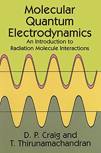 Molecular Quantum Electrodynamics (Dover Books on Chemistry) por D. P. Craig
