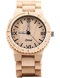 Dtree Analogue Off-White Dial Men's Watch -100006