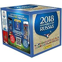 Panini - Mundial Rusia 2018 Caja con 50 sobres, (003497BOX50)