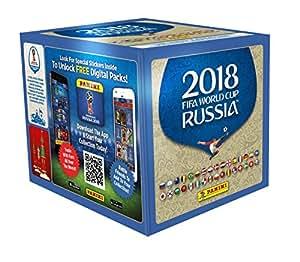 Panini - Coupe du Monde 2018 - Stickers Boîte DE 50 Pochettes Stickers - Version française Officielle