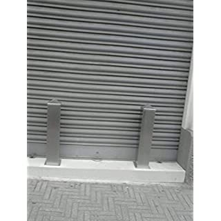 Pole Stainless Repellent for shops Safety, Anti parking 60x 60mm