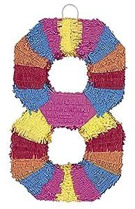 Unique Party- Piñata número 8 (6678)