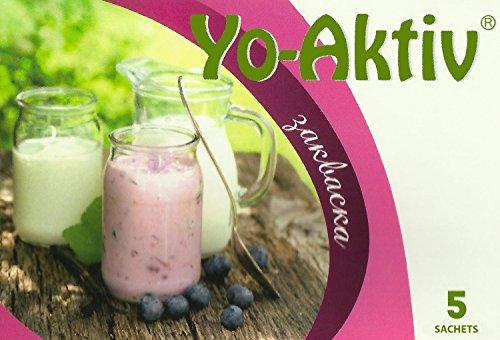 Joghurtferment YO AKTIV - 5 Beutel gefriergetrockneter Starterkulturen