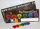 Dunlop Tortex Standard Plektrum Set, 6 Stück, 0,5-1,14 mm