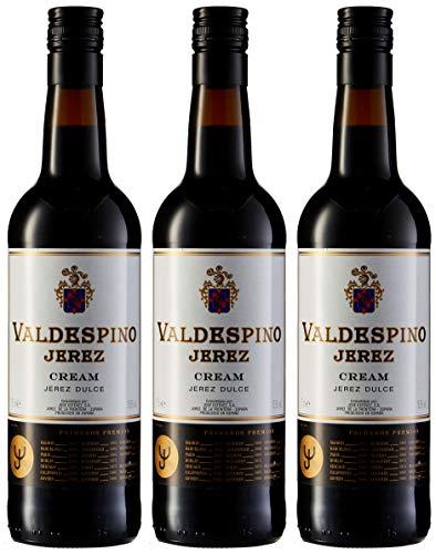 Jerez valdespino -Vino dulce - 75cl - [paquete de 3]