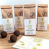 Seedbombs Blumen-Paket - 4 Sorten x 3 Seedballs