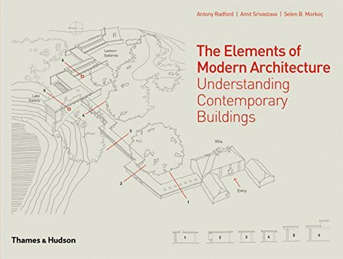 The Elements of Modern Architecture: Understanding Contemporary Buildings by Antony Radford (2014-06-17)