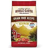 Whole Earth Farms Todo Tierra Granjas sin Grano Pollo y Turquía Receta seco Perro Alimentos
