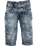 CIPO & BAXX Jeans Shorts C-0096, Größe:29
